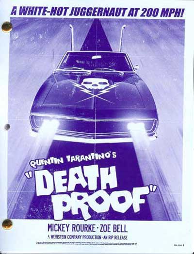 Boulevard de la mort - un film Grind House