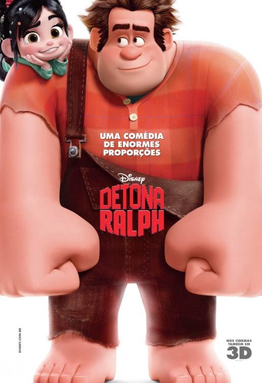 Le prochain dessin anim disney les mondes de ralph en 6 affiches 21 08 - Dessin anime les mondes de ralph ...